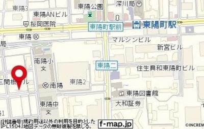 【地図】スカイコート東陽町EAST