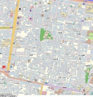 【地図】スカイコート神楽坂第2
