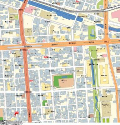 【地図】グローバン本所吾妻橋