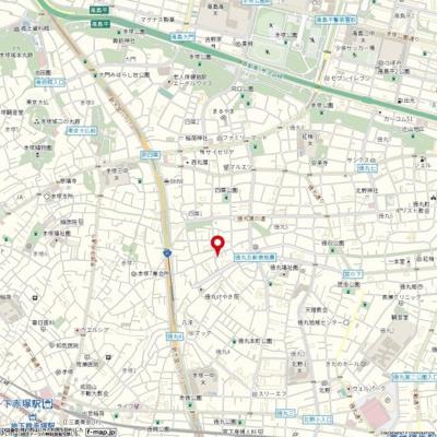 【地図】トップ下赤塚第二