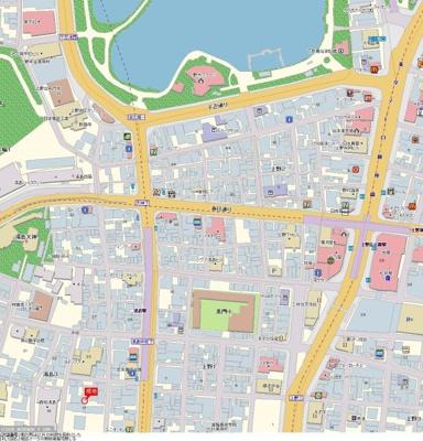 【地図】菱和パレス御茶ノ水湯島天神町