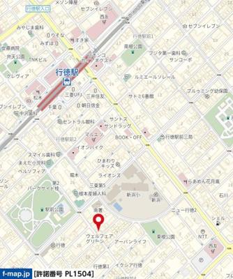【地図】エーデルハイム155