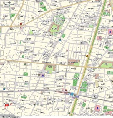 【地図】柴田マンション
