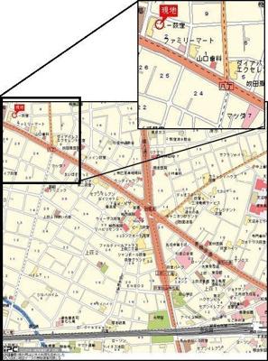 【地図】アステール荻窪