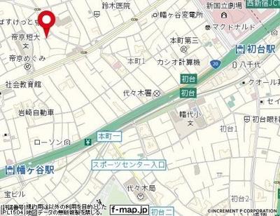 【地図】メイコーポラス