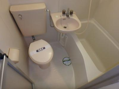 【浴室】レオパレス中川第2