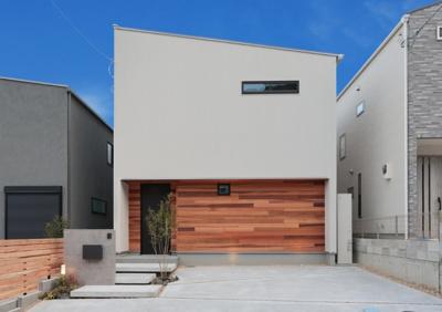 【外観】大津市国分2丁目 新築戸建