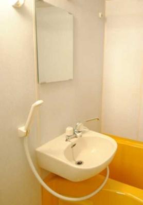 【洗面所】シンシア三軒茶屋太子堂 バストイレ別 浴室乾燥機 オートロック