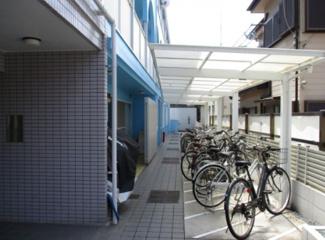 【駐輪場】横浜市神奈川区片倉5丁目一棟アパート