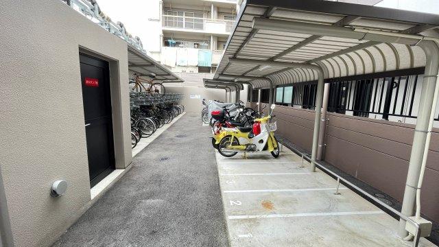 【駐輪場】グランフォーレ南福岡レジデンス