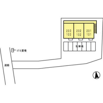 【区画図】サニーシーズン