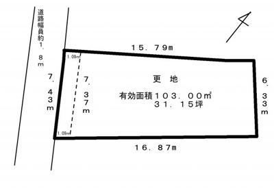 嵐山谷ヶ辻子町A号地