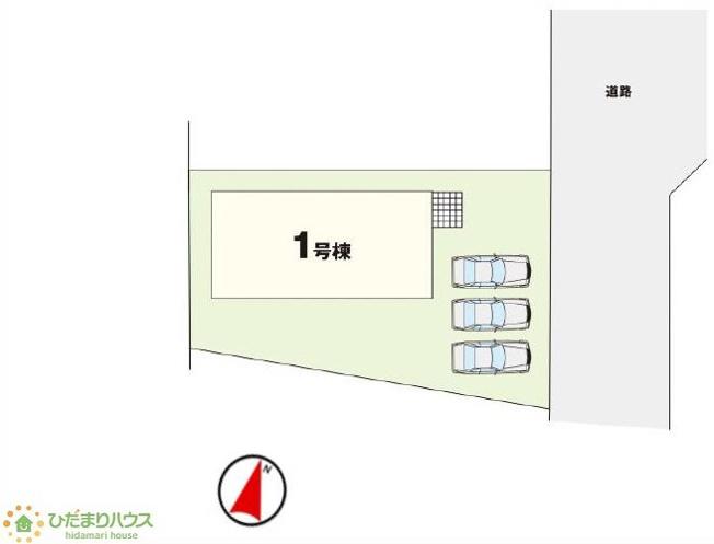 【完成予想図】牛久市さくら台5期 新築戸建