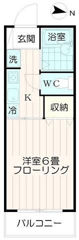 バストイレ別【エーデルワイス】