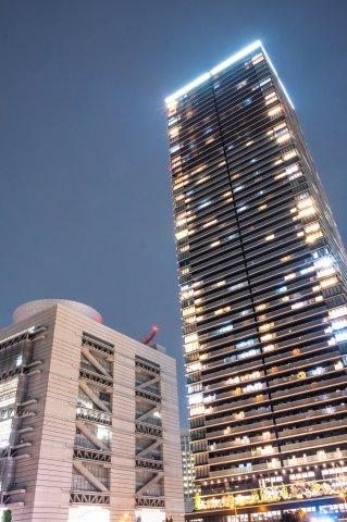 【外観】55階建て超高層タワーレジデンスです。