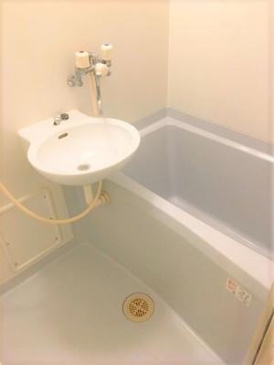 【浴室】レオパレス土浦C