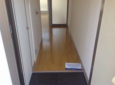 【玄関】レオパレスフラワー