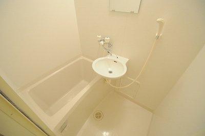 【浴室】レオパレスフラワー