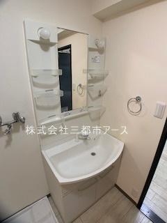 【独立洗面台】リバーシティ不動前