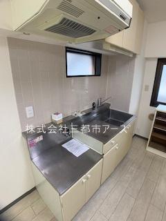 【キッチン】リバーシティ不動前