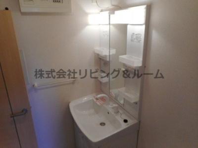【洗面所】メゾンド・プラシード B棟