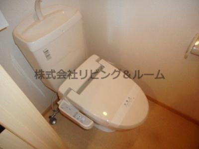 【トイレ】メゾンド・プラシード B棟