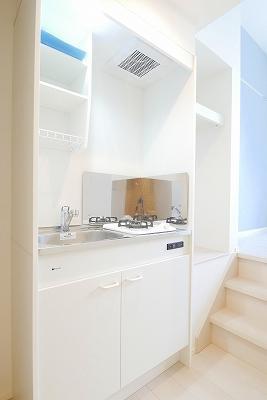 ハーモニーテラス富士見台のキッチン