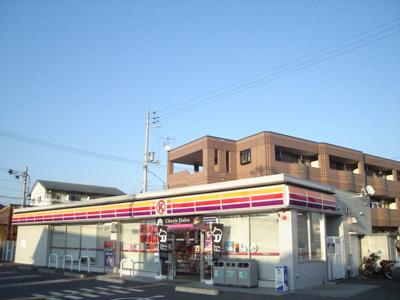 サークルK高知朝倉西店(コンビニ)まで587m