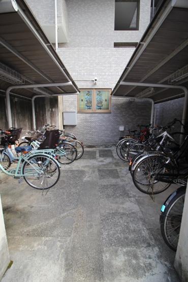 【駐輪場】湘南台パークホームズ