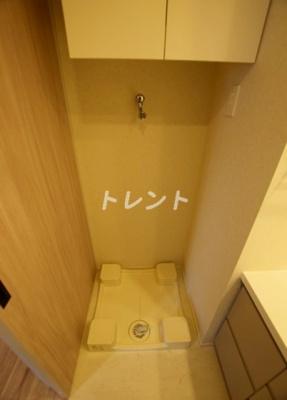 【洗面所】パークアクシス三番町