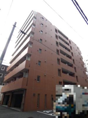 京浜急行線「大森海岸」駅より徒歩2分の駅チカ分譲賃貸マンションです。