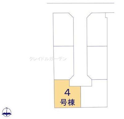 【区画図】クレイドルガーデン橿原市法花寺町第1