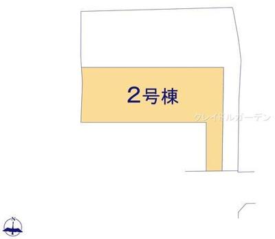 【区画図】クレイドルガーデン北葛城郡河合町大輪田第1
