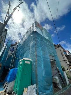 【外観】横浜市中区山元町1丁目 新築戸建て 3LDK