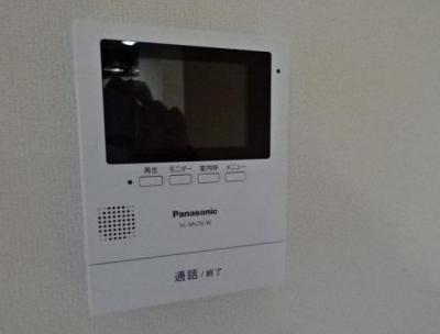 TVモニターホン付きで安心ですね。