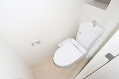 【トイレ】プレサンス上町台クレスト