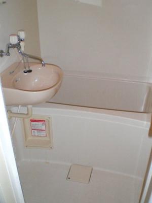 【浴室】レオパレスマ・メゾン