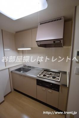 【キッチン】リバーシティ21新川