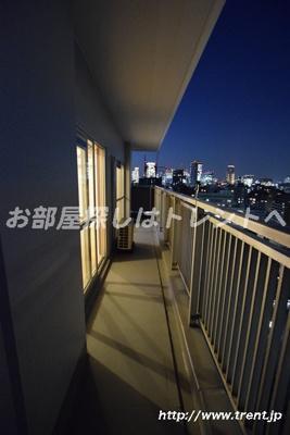【バルコニー】リバーシティ21新川