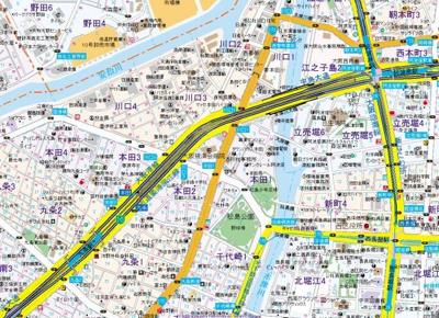 【地図】アドバンス大阪セレーノ
