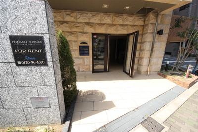 【エントランス】プレサンス阿波座ステーションフロント