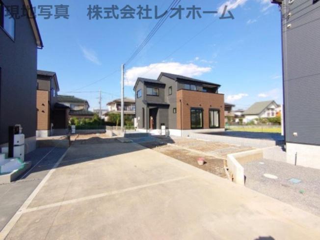 《 現地写真 》現地見学や詳細は 株式会社レオホーム へお気軽にご連絡下さい。