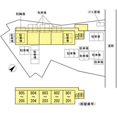 【区画図】Habitation Daiwa