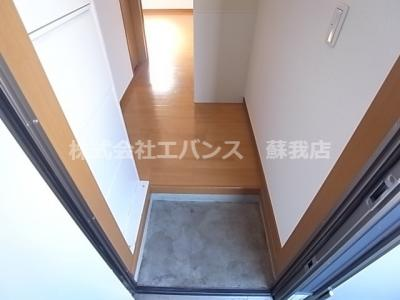 【玄関】アメニティ大巌寺