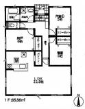 平塚市纒 新築戸建 全2棟1号棟 平屋の画像