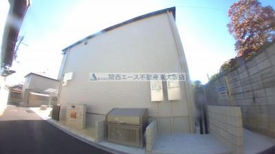 【外観】ボヌール森河内Ⅱ