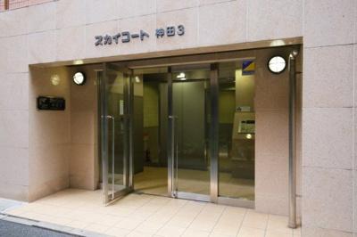 【エントランス】スカイコート神田第3