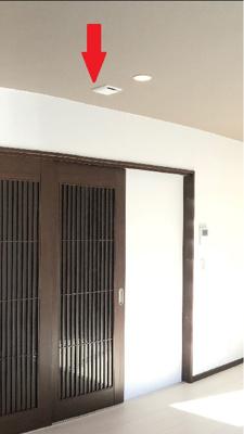 PM2.5も通さない熱交換式24時間換気システムを採用し、室内がクリーンに(パナソニック製)!