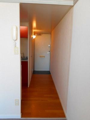 【玄関】レオパレスB・P246C館
