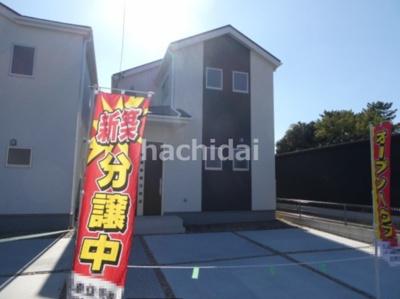 碧南市伏見町Ⅱ新築分譲住宅1号棟写真です。2021年8月撮影
